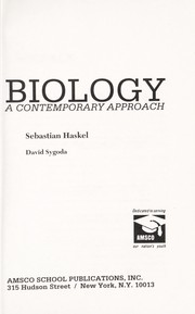 Cover of: Biology | Sebastian Haskel, David Sygoda
