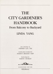 Cover of: The city gardener