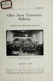 Cover of: Agricultural extension schools