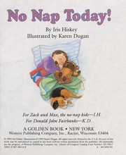Cover of: No Nap Today!