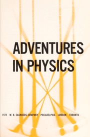 Cover of: Adventures in physics | Phillip E. Highsmith