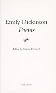 Cover of: Emily Dickinson Poems: First and Second Series