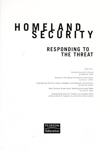 Homeland security by