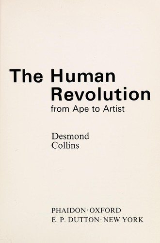 The human revolution by Desmond Collins