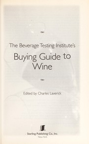 Cover of: Ultimate Buying Guide to Wines