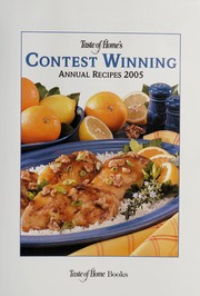 Cover of: Taste of home's contest winning annual recipes 2005