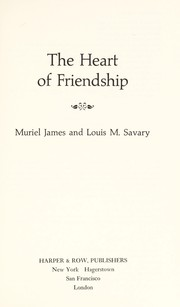 Cover of: The heart of friendship