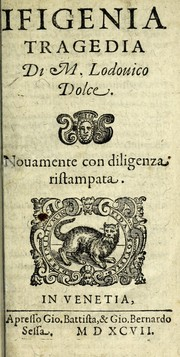 Cover of: Ifigenia