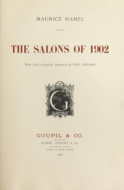 Cover of: The Salons of 1902 | Maurice Hamel