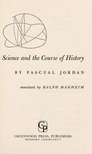 Cover of: Science and the course of history