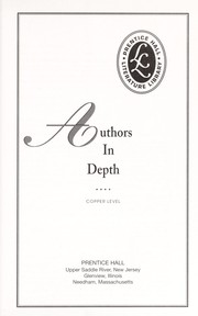Cover of: Authors In Depth Copper Level |