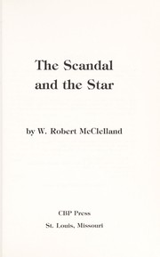 Cover of: The scandal and the star