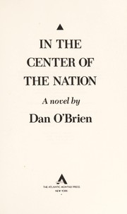 Cover of: In the center of the nation: a novel