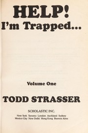 Cover of: Help! I'm trapped | Todd Strasser