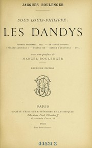 Cover of: Sous Louis-Philippe