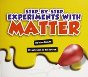 Cover of: Step-by-step experiments with matter