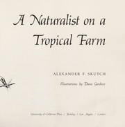 Cover of: A naturalist on a tropical farm