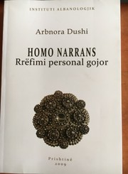 Cover of: HOMO NARRANS: Rrëfimi Personal gojor