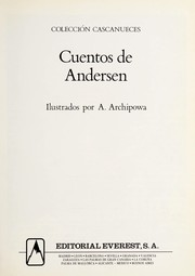 Cover of: Cuentos de Andersen