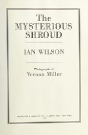 Cover of: The mysterious shroud