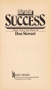 Cover of: Miracle success