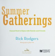 Cover of: Summer Gatherings | Rick Rodgers