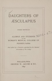 Cover of: Daughters of Æsculapius |