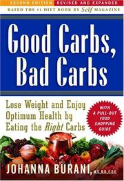 Cover of: Good carbs, bad carbs | Johanna C. Burani