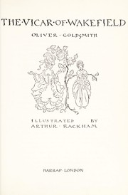 Cover of: The Vicar of Wakefield (Harrap Illustrated Classics) | Oliver Goldsmith