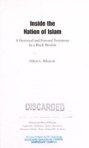 Cover of: Inside the Nation of Islam