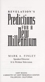 Cover of: Revelation's predictions for a new millenium