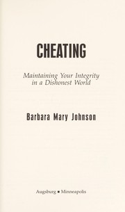 Cover of: Cheating | Barbara Mary Johnson