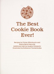 Cover of: The Best Cookie Book Ever!