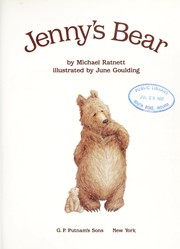 Cover of: Jenny's bear