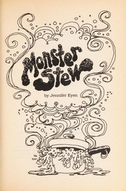 Cover of: Monster Stew
