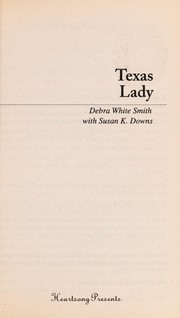 Cover of: Texas lady | Debra White Smith