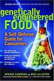 Cover of: Genetically Engineered Food: A Self-Defense Guide for Consumers