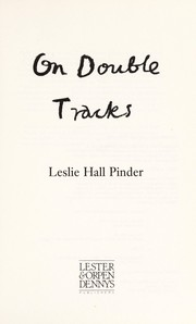 Cover of: On double tracks | Leslie Hall Pinder