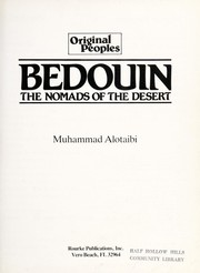 Cover of: Bedouin