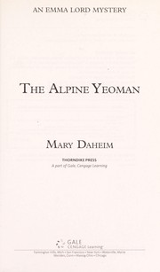 Cover of: The Alpine yeoman