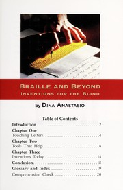 Cover of: Braille and beyond