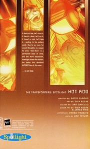Cover of: Hot Rod | Simon Furman