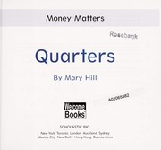 Cover of: Quarters | Hill, Mary