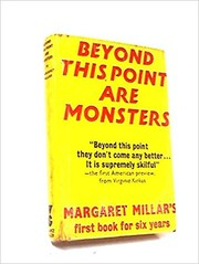 Cover of: Beyond this point are monsters
