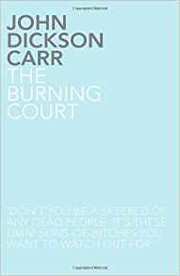Cover of: The Burning Court