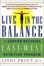 Cover of: Live in the Balance | Linda Prout