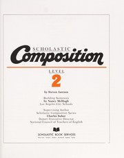 Cover of: Scholastic composition