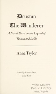 Cover of: Drustan the Wanderer | Anna Taylor