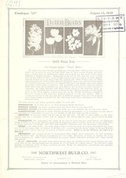 Cover of: Dutch bulbs