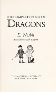 Cover of: The complete book of dragons